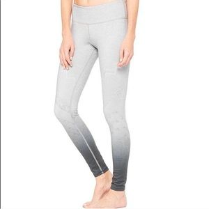 NEW • Alo Yoga • Airbrush Legging Slate Gray XS